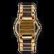 The Barrel 42mm - Brushed Gold/Ebony