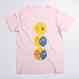 【にじいろひよこ】三段ひよこTシャツ (メンズ/レディース)