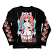 【FAKKU】Nurse Momoka Long Sleeve T-shirt