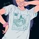 【宇宙サマー】FARMING WITCH RPG T-SHIRT