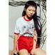 【OMOCAT×MARUTI-BITAMIN】TANGLE Ringer Shirt