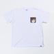 【URAHARA】プリントポケットTシャツ りと.ver