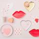 【MeriMeri】カップケーキキット/ハート&Love [MM0206-45-3118]