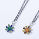SR'ES Rainbow STANDARD(エスアールエスレインボースタンダード) / COLORFUL FLOWER NECKLACE(ハワイアンジュエリーネックレス) / No.ACS00907