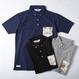 PROJECT SR'ES(プロジェクトエスアールエス) / ANOTHER FABRIC POCKET POLO(アロハ生地ポケット使用のポロシャツ) -SR'ES GOLF CLUB LINE-