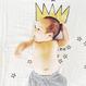 おくるみ 王冠×星