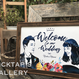 ■picktap's gallery■ウェルカムボード/A3サイズ/ヴィンテージ調