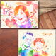 ■picktap's gallery■ウェルカムボード/A3サイズ/水彩調