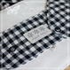 布ナプキン**Gingham Lace*Black*Sサイズ【2030】