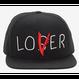 """【USA直輸入】 IT  イット """"それ""""が見えたら、終わり。 ペニーワイズ   Loser / Lover キャップ 帽子 ハット ホラー 映画"""