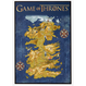 【USA直輸入】ゲームオブスローンズ マップ 額 ボード ゲーム・オブ・スローンズ  海外ドラマ GOT  ポスター MAP