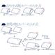 【アウトレット限定品】光で抗菌消臭する枕カバー(L・50cm×70cm)綿100%