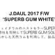 J.DAUL SUPERB GUM SOLE – WHITE