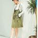 【お取り寄せ商品】ハイウエストリアルストラップスカート