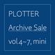 PLOTTER旧作セット(4〜7+mini)送料込み、おまけつき