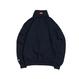 Hellrazor Trademark Logo Half Zip Sweater - Navy
