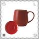 ORIGAMI オリガミ バレルアロママグ&ソーサー ヴィンテージレッド 320cc コーヒーマグ&ソーサー アロマが愉しめる 日本製