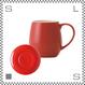 ORIGAMI オリガミ バレルアロママグ&ソーサー レッド 320cc コーヒーマグ&ソーサー アロマが愉しめる 日本製