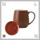 ORIGAMI オリガミ バレルアロママグ&ソーサー ブラウン 320cc コーヒーマグ&ソーサー アロマが愉しめる 日本製