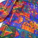 80s pop silk L/S shirt