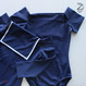 [Zi dancewear] 復刻版・Cap Sleeves leotard with collar, Phaethon (Dark sapphire)