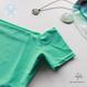 [Zi dancewear] 復刻版・Cap Sleeves leotard, Phaethon (turquoise)