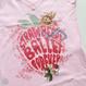 [Ballet Papier] V-NECK T-SHIRT   'STRAWBERRY BALLET'