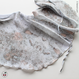 [Zi dancewear] Chiffon skirt (L丈), stained with the print Delicate Dirt & Mud