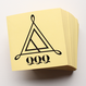 QQQ Logo sticker