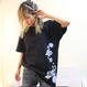 Blue Jelly Fish Tシャツ(黒)