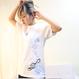 Blew Jelly Fish Tシャツ(白)