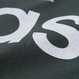 アシンメトリーロゴTシャツ