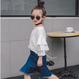 【 kids】cotton volume sleeve tops