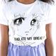 可愛い Tシャツ 原宿 漫画