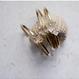 Harkimar diamond brass bangle