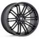 Rohana RC20  20×9.0J  Matte Black w/Gloss Black Lip(マットブラック/グロスブラックリップ)