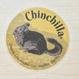 【Chinchilland】透明タイプ屋外ステッカー(アンデスチンチラ)