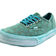 【残り僅か】Vans Authentic Overwash Paisley ( Turquoise)
