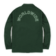 BUTTER GOODS CAMPUS COACH'S JACKET FOREST