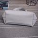 ほどよい大きさ✨横長オーバル型ショルダーバッグ
