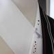 猫刺繍半襟 ラベンダー