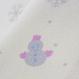 雪だるま半衿 イエロー