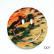 print smile wood plate