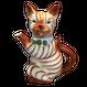 イギリス紳士ネコのポット