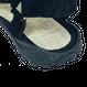 SHITOI  FOOT  /  Men's Black×Black