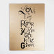 Love on Canvas「King Gold (L)」