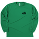 00304 _ドライロングスリーブTシャツ(ライトグリーン/グリーン)