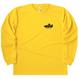00304 _ドライロングスリーブTシャツ(ホワイト/デイジー)