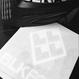 BLKFOX CUTTING STICKER 01/WHITE