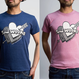 [SimWorks Original] Hearts & Arrow Tee